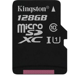 Micro SD 128GB Kingston Canvas 80R C10, sa SD adapterom