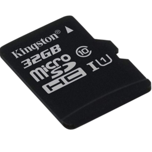 Micro SD 32GB Kingston Canvas 80R Cl10