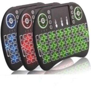 Mini tastatura sa osvetljenjem i punjivom baterijom, model GMB-I8