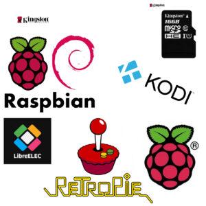 Raspberry Pi, memorijska kartica sa operativnim sistemom