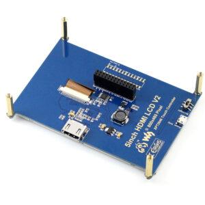 """Ekran 5 inča, HDMI, za Raspberry Pi (LCD displej 5""""), 800×480, osetljiv na dodir"""