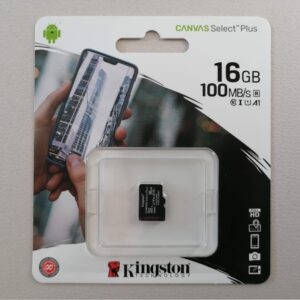 Micro SD 16GB Kingston Canvas select PLUS klasa 10
