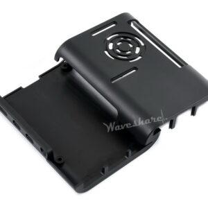 Kućište za Raspberry Pi 4, sa aluminijumskim samolepljivim hladnjacima i ventilatorom, ABS
