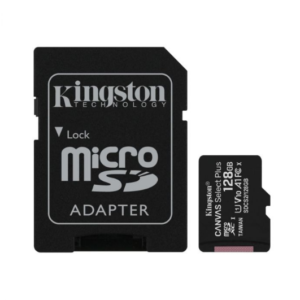 Micro SD 128GB Kingston Canvas select PLUS klasa 10