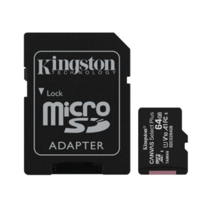 Micro SD 64GB Kingston Canvas select PLUS klasa 10