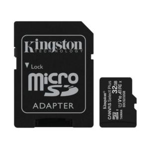 Micro SD 32GB Kingston Canvas select PLUS klasa 10