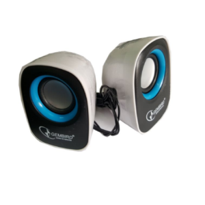 Gembird Stereo zvucnici black/black, 2 x 3W RMS USB pwr, 3.5mm, kutija sa prozorom, SPK-111 **