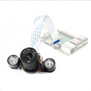 Raspberry Pi IR-CUT kamera (model B), podesivi fokus, za dan i noć