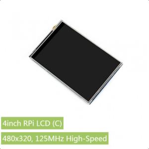 """Ekran 4 inča (C), za Raspberry Pi (LCD displej 4""""), 480×320, osetljiv na dodir"""