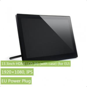 """Ekran 13.3 inča (H), HDMI, za Raspberry Pi (LCD displej 13.3""""), 1920×1080, osetljiv na dodir, sa kućištem"""