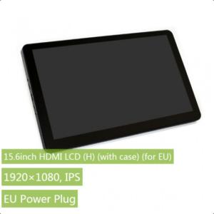 """Ekran 15.6 inča (H), HDMI, za Raspberry Pi (LCD displej 15.6""""), 1920×1080, osetljiv na dodir, sa kućištem, sa ugrađenim zvučnicima"""