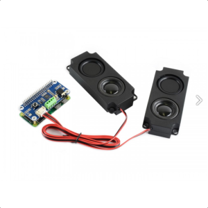 Raspberry Pi WM8960 Hi-Fi zvučna karta, HAT, sa Zvučnicima 5W, Stereo CODEC, Play/Record