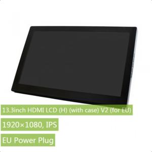 """Ekran 13.3 inča (H), HDMI, za Raspberry Pi (LCD displej 13.3""""), 1920×1080, osetljiv na dodir, sa kućištem, sa ugrađenim zvučnicima"""