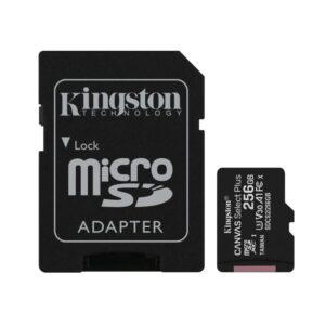 Micro SD 256GB Kingston Canvas select PLUS klasa 10