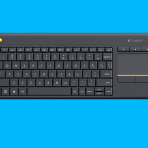 LOGITECH K400 Plus, bežična tastatura sa funkcijom miša