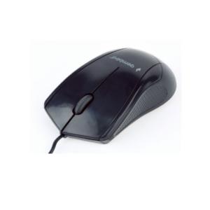 Optički miš, 1000 dpi, 3 dugmeta, crni, USB