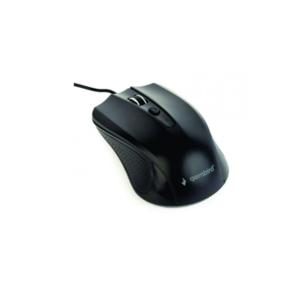 Optički miš, 800-1200 dpi, 4 dugmeta, crni, USB