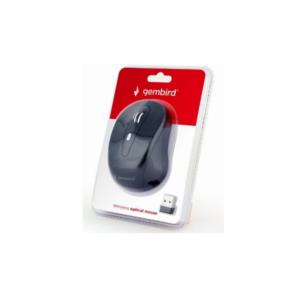 Bežični optički miš, 800-1600 dpi, USB, crni lak