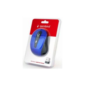 Bežični optički miš, 800-1600 dpi, USB, plavi