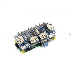 4 Port USB HUB HAT za Raspberry Pi
