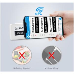 2.13 inča NFC e-Paper, bez baterija