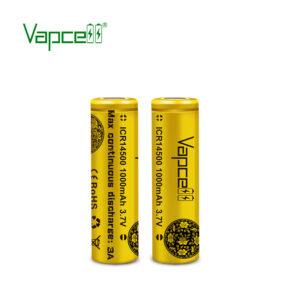 Vapcell ICR14500 AA Punjiva Baterija 3.6V Li-Ion 1000mAh 3A