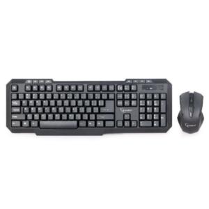 Komplet bežični. Gejmerska tastatura (US raspored) + miš, KBS-WM-02