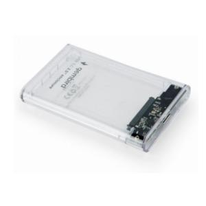 USB 3.0 Eksterno kućište za 2.5″ SATA hard disk – providno