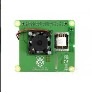 Power over Ethernet HAT for Raspberry Pi, 802.3af PoE network