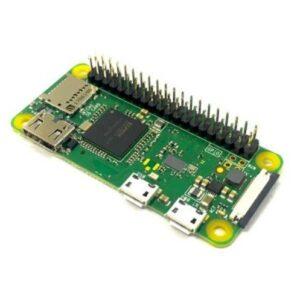 Raspberry Pi Zero W, svi prateći kablovi/adapteri, kućište, hladnjak