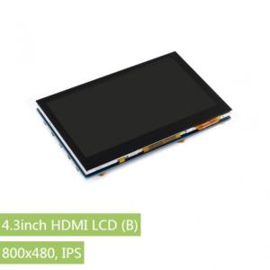 Ekran 4.3 inča HDMI LCD (B), 800×480, IPS, osetljiv na dodir