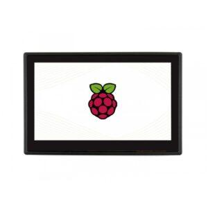 Ekran 4.3 inča za Raspberry Pi, osetljiv na dodir, sa zaštitnim staklom, DSI, 800×480