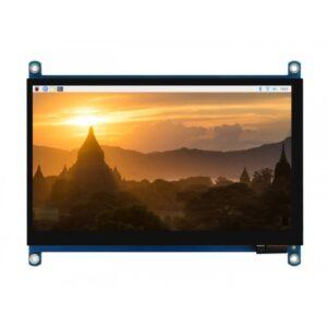 7inča QLED Displej, 1024×600, G+G Panel sa ojačanim staklom