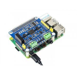 2-CH Izolovani HAT za Raspberry Pi, RS485