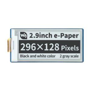 """Ekran 2.9 inča, za Raspberry Pi Pico (E- Paper, E-ink displej 2.9""""),296×128, crno-beli"""