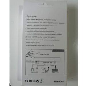 USB 3.0 na 3x HUB 3.0 + RJ45 lan