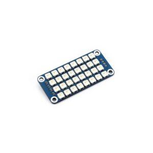 Raspberry Pi RGB LED HAT displej