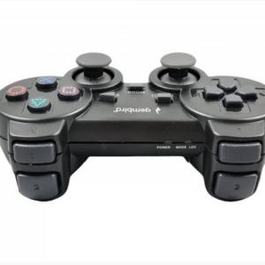 Bežični džojstik (gamepad), sa dvostrukom vibracijom, PS2 / PS3 / PC