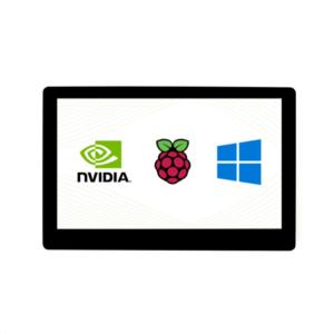 "Ekran 5 inča, za Raspberry Pi (LCD displej 5""), Amoled, HDMI, 960×544, osetljiv na dodir, sa ojačanim staklom"
