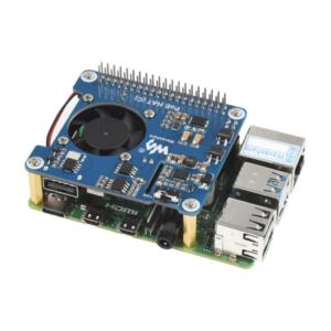 POE (Power over Ethernet) HAT (C) za Raspberry Pi 3B+/4B i 802.3af + ventilator
