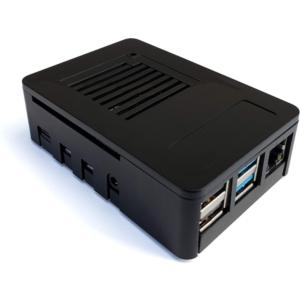 MaticBox 4 Kućište Za Raspberry Pi 4, crno metalik
