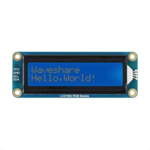 LCD1602 RGB Module, 16×2, 3.3V/5V