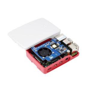 POE (Power over Ethernet) HAT (D) za Raspberry Pi 3B+/4B i 802.3af + ventilator