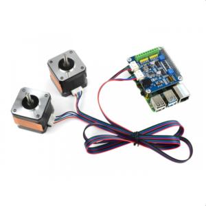 Stepper Motor HAT za Raspberry Pi (kontrola 2 motora)