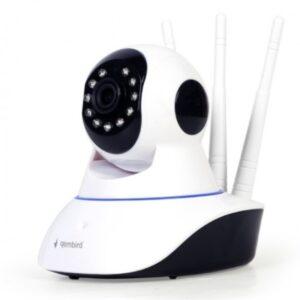 ICAM-02 Žična+bežična IP Full HD kamera, video nadzor, night/day LED, SD, 360°