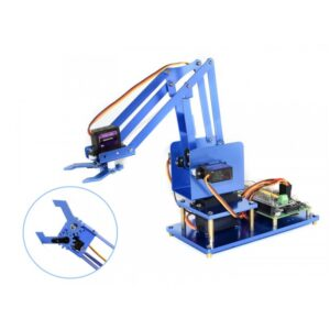 4-DOF Metal Robot Arm Kit za Raspberry Pi, Bluetooth / WiFi