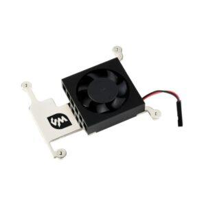 Ventilator za Raspberry Pi 4B/3B+/3B sa aluminijumskim nosačem, GPIO adapter