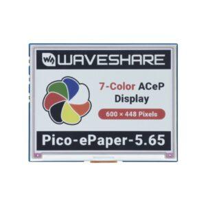 5.65inch E-Paper E-Ink Modul za Raspberry Pi Pico, 600×448, ACeP