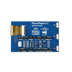 2.7inch E-Paper E-Ink Modul za Raspberry Pi Pico, 264×176, crno-beli, SPI