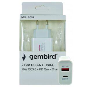 Brzi punjač za mobilni telefon NPA-AC39 3.0